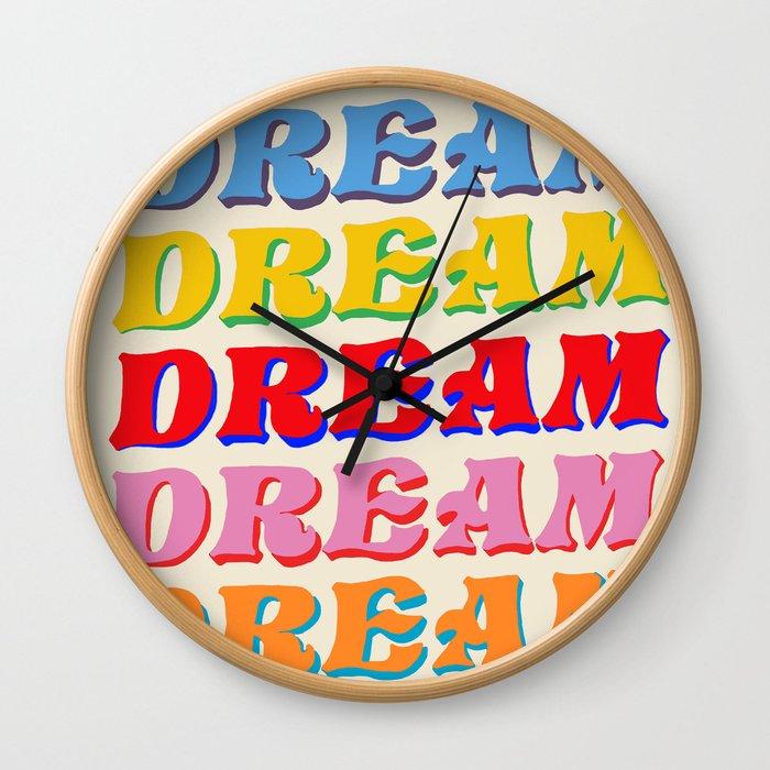Everly Dream Wall Clock