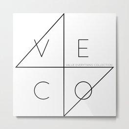 VECO Metal Print