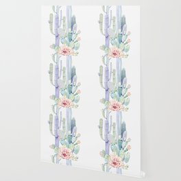 Mixed Cacti 2 #society6 #buyart Wallpaper
