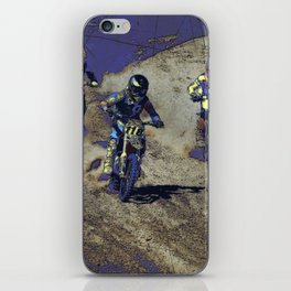 The Home Stretch - Motocross Racers iPhone Skin