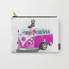 Cute pink bus Carry-All Pouch