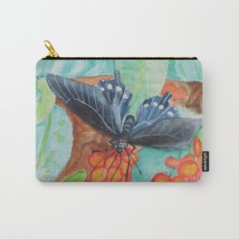 'Pipevine Swallowtail Butterfly' Carry-All Pouch