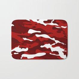 Red Camo Bath Mat