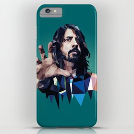 Learn to Fly - Dave Grohl print iPhone Case