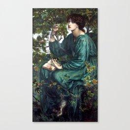 Dante Gabriel Rossetti, The Day Dream, 1880 Canvas Print