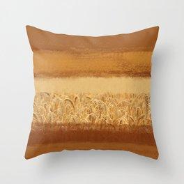 Wheaten Throw Pillow