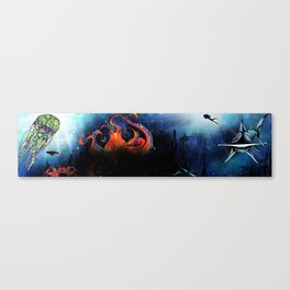 Sea Below the Surface Canvas Print