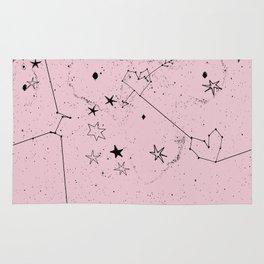 pink galaxi Rug