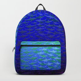 Sharks In Deep Water. Backpack