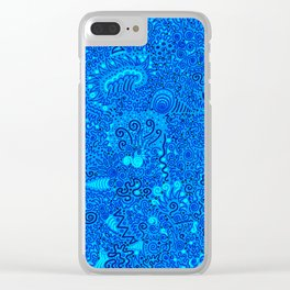 Jaw-dropper Clear iPhone Case