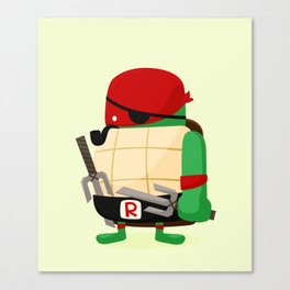 Raph in Disguise Canvas Print