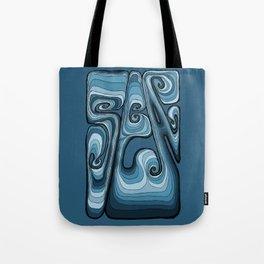 Sea Typography - Sailor Blue Tote Bag