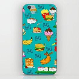 catfood blanket iPhone Skin