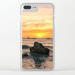 BORACAY 03 Clear iPhone Case
