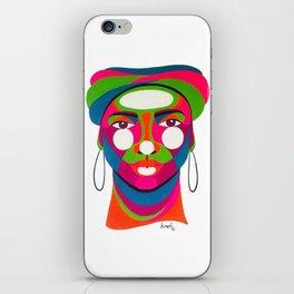 Palenquera es color iPhone Skin