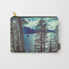 Crater Lake Vintage Summer Carry-All Pouch