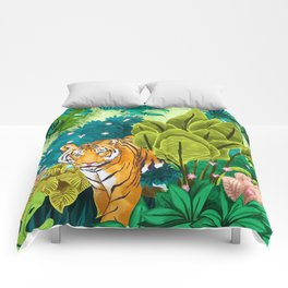 Jungle Tiger Comforters