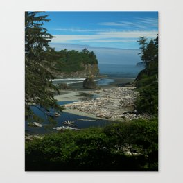 Morning At The Seaside Canvas Print