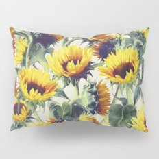 Sunflowers Forever Pillow Sham