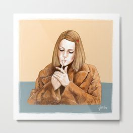 Margot Tenenbaum Metal Print