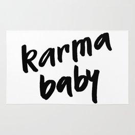 karma baby Rug