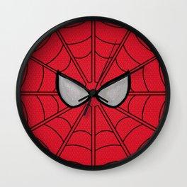 Spidey Mask Wall Clock