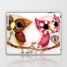 So In Love Hooties - Owl iPhone Case Laptop & iPad Skin