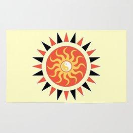 Yin yang sunshine Rug