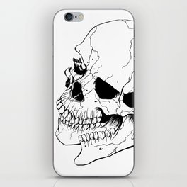 Skull #6 (Fragmented and Conjoined) iPhone Skin