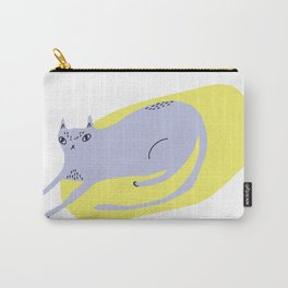 Resting Cat Carry-All Pouch