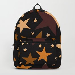 Toasted Caramel Stars Backpack
