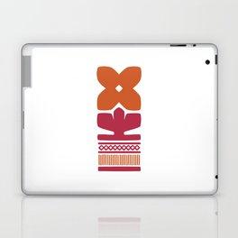 Nordic Orange Flower Laptop & iPad Skin