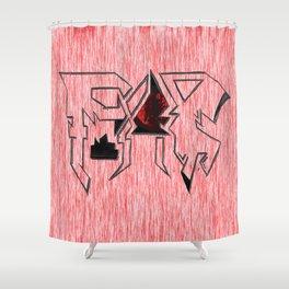 Fear Shower Curtain