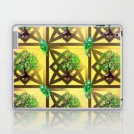 Celtic Tree Pattern Laptop & iPad Skin