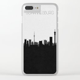 City Skylines: Johannesburg Clear iPhone Case