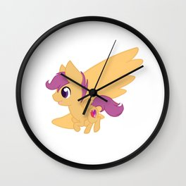 Chibi Scootaloo Wall Clock