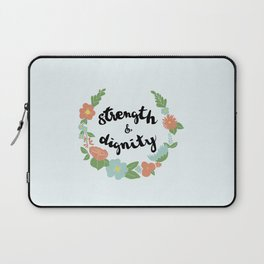 Strength and Dignity Laptop Sleeve