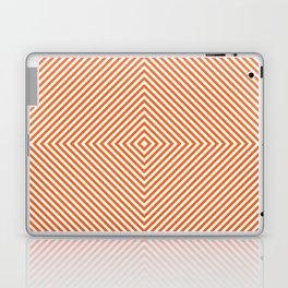 orange diamond Laptop & iPad Skin