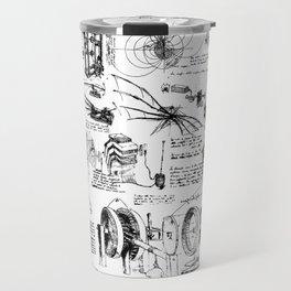 Da Vinci's Sketchbook Travel Mug
