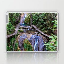 Valley of 33 waterfalls Laptop & iPad Skin