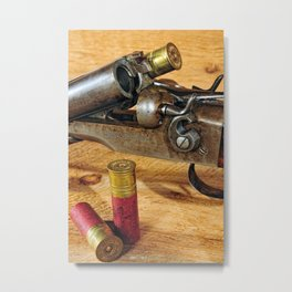 Double Barrel  Metal Print