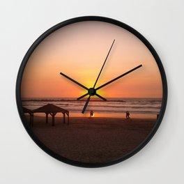 Shabbat Shalom From Tela-Viv Israel. Wall Clock