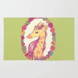 Lovely Giraffe 2 Rug