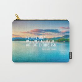 The Power Of Enthusiasm Carry-All Pouch