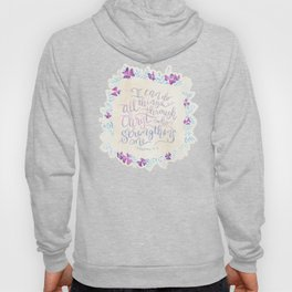 I Can Do All Things - Philippians 4:13 Hoody