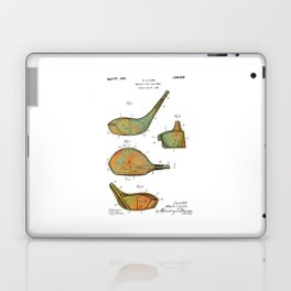 Golf Club Heads Patent - 1926 Laptop & iPad Skin