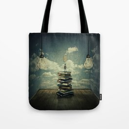 switch on your mind Tote Bag