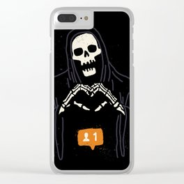 New Follower Clear iPhone Case