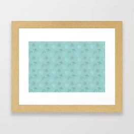 Kerr Camping Pattern 2 Framed Art Print