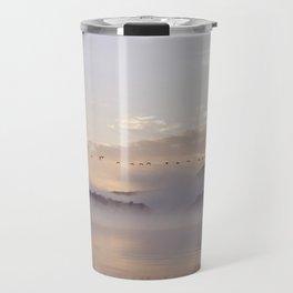 Into the Mists of Dawn Travel Mug